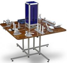 Многофункциональный стол для разработки мелкой моторики рук