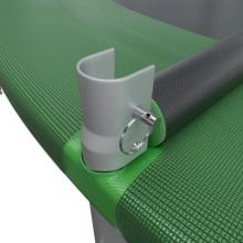 Батут с внутренней сеткой и лестницей EVO JUMP External 8ft (Green)
