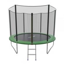 Батут с внутренней сеткой и лестницей EVO JUMP External 10ft (Green)