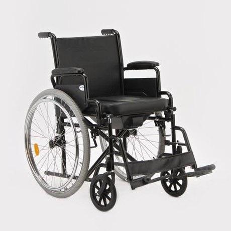 Кресло-коляска (туалет) складное H011A