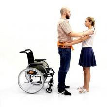 RP-200 Надежная поддержка Пояс безопасности пациента с рукоятками для сопровождающего