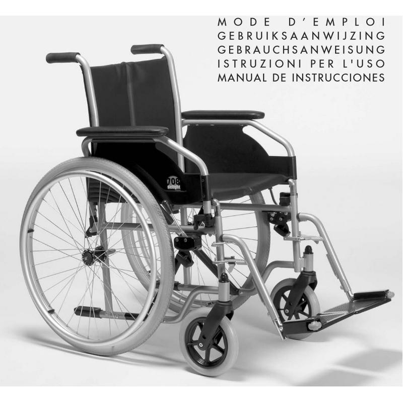 Инвалидная кресло-коляска Vermeiren 708 D
