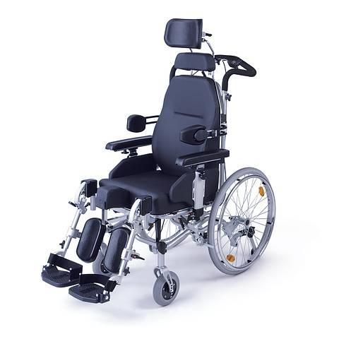 Инвалидная кресло-коляска с множеством функций SIRENA II Titan (Титан) LY-250-390003