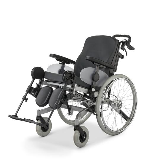 Инвалидная кресло-коляска модель 9.073 SOLERO ширина 50 см