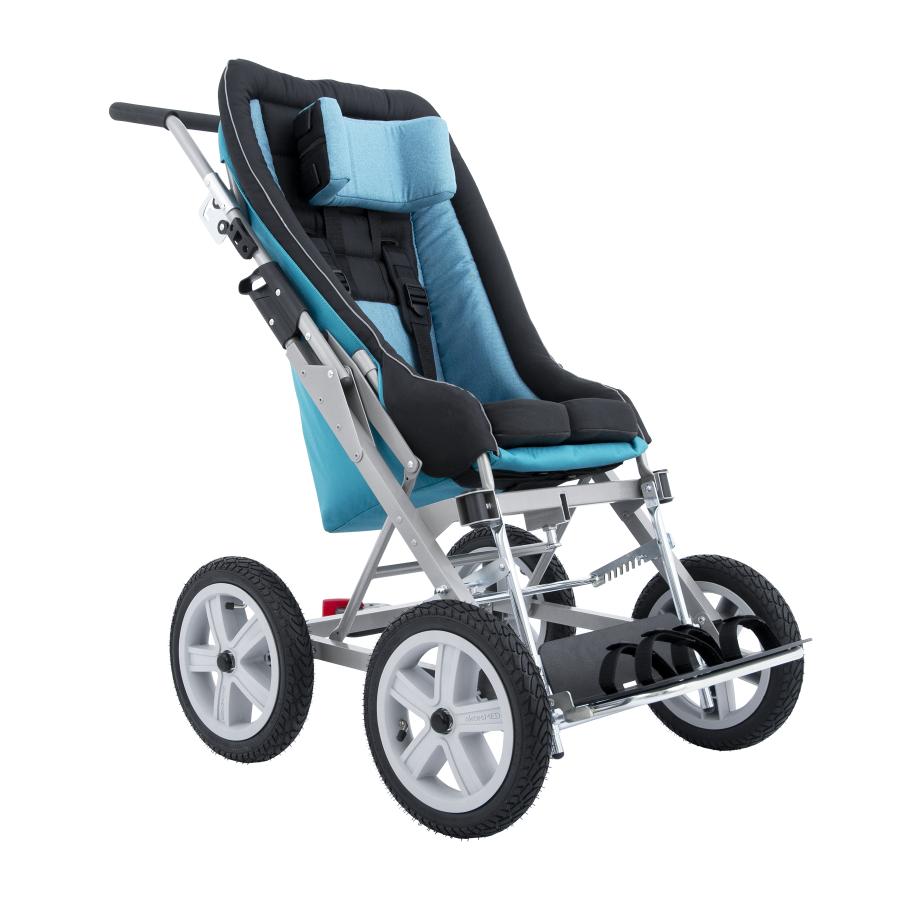 Детская инвалидная кресло-коляска Akcesmed RACER Нова
