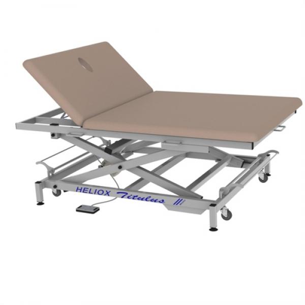 Широкий массажный стол Титулус 2 секции - Стол Войта-Бобата