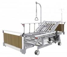 Кровать электрическая Med-Mos DB-11А (МЕ-5248Н-00) с боковым переворачиванием, туалетным устройством и функцией «кардиокресло»