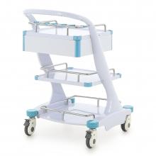 Столик реанимационный, анестезиологический Med-Mos CT-109 (ТМ-015АН-00)