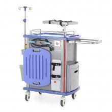Столик реанимационный, анестезиологический Med-Mos ET750-01 (ТМ-001АН-00)