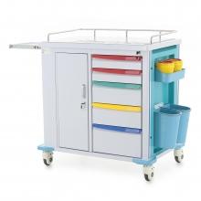Столик реанимационный, анестезиологический Med-Mos PMT01 (ТМ-007АН-00)