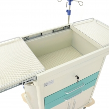 Столик реанимационный, анестезиологический Med-Mos ЕТ016 (ТМ-009АН-00)
