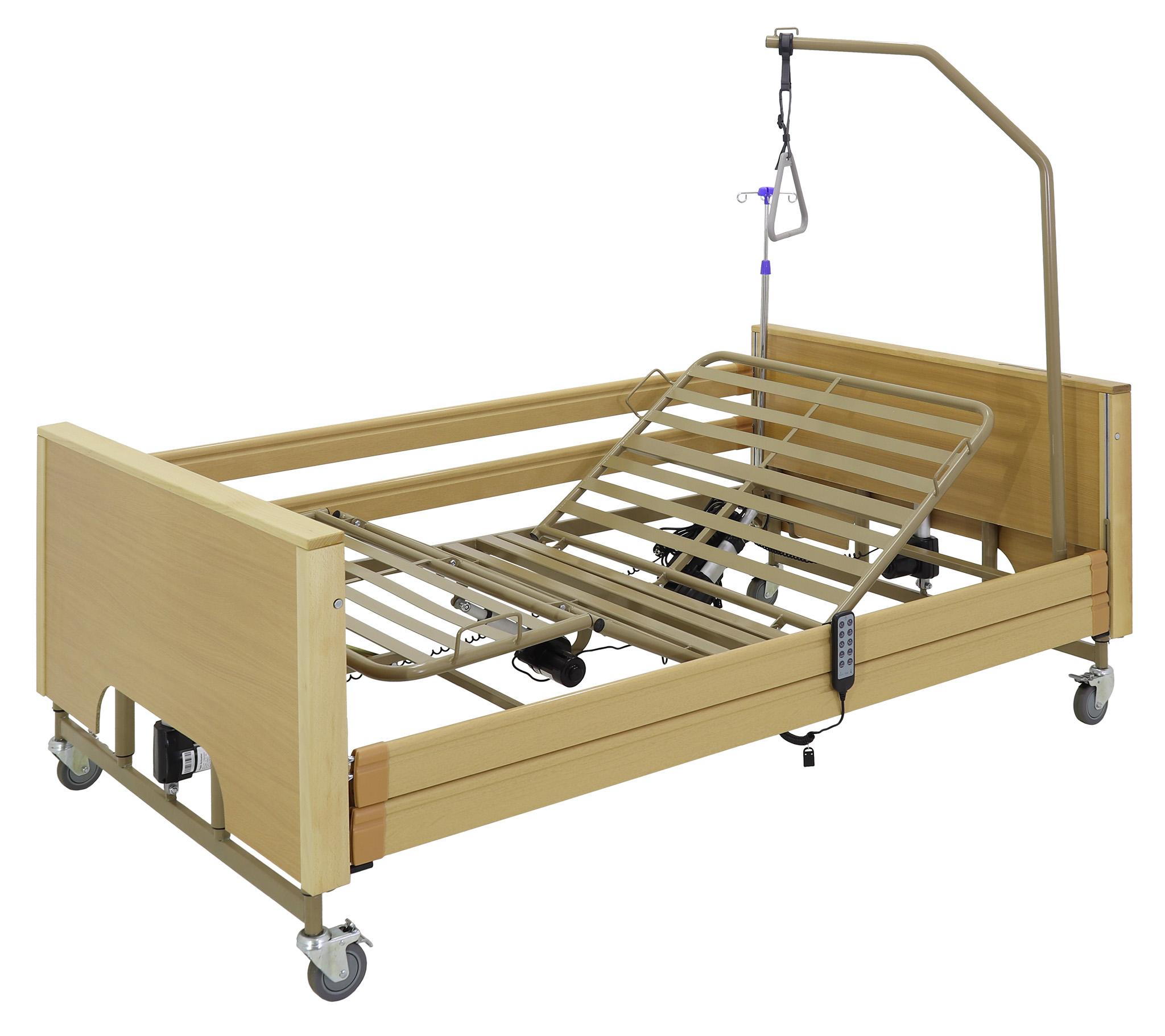 Кровать электрическая Med-Mos YG-1 (КЕ-4024М-22) ЛДСП (5 функций, ложе 120)