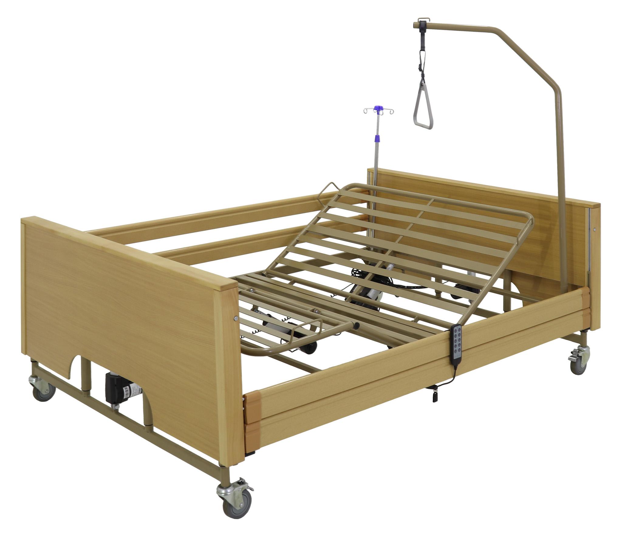 Кровать электрическая Med-Mos YG-1 (КЕ-4024М-23) ЛДСП (5 функций, ложе 140)