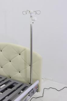 Кровать электрическая Med-Mos DB-11А (МЕ-5228Н-00) светлый премиум с боковым переворачиванием, туалетным устройством и функцией «кардиокресло»