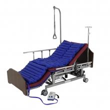 Кровать электрическая Med-Mos DB-11А (МЕ-5228Н-01) ЛДСП с боковым переворачиванием, туалетным устройством и функцией «кардиокресло» и регулировкой высоты