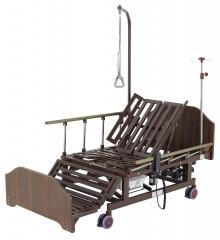 Кровать электрическая Med-Mos DB-11А (МЕ-5228Н-10) с боковым переворачиванием, туалетным устройством и функцией «кардиокресло»