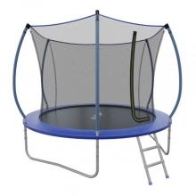Батут с внутренней сеткой и лестницей EVO JUMP Internal 10ft (Blue)