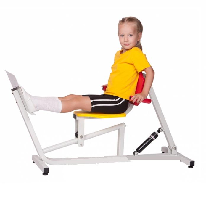 Тренажер силовой детский Жим ногами сидя