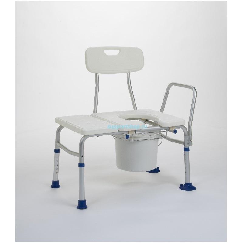 Стул-скамейка с санитарным оснащением для ванной Vermeiren Katy