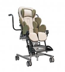 Инвалидная коляска для детей с дцп Кимба Нео комнатная на домашней раме