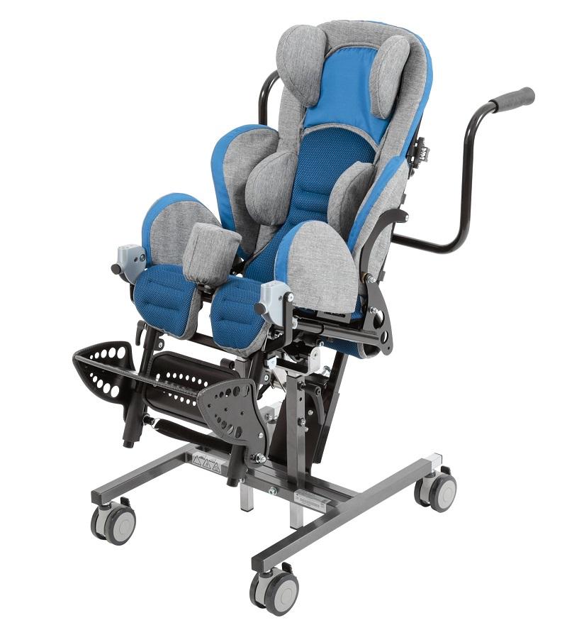 Инвалидная коляска для детей с ДЦП Otto Bock Кимба Нео комнатная на домашней раме