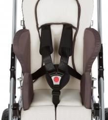 Инвалидная коляска для детей с дцп Кимба Нео комнатная на домашней раме hi-low