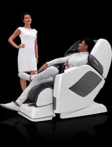 Массажное кресло OTO Prestige Zen Space Grey
