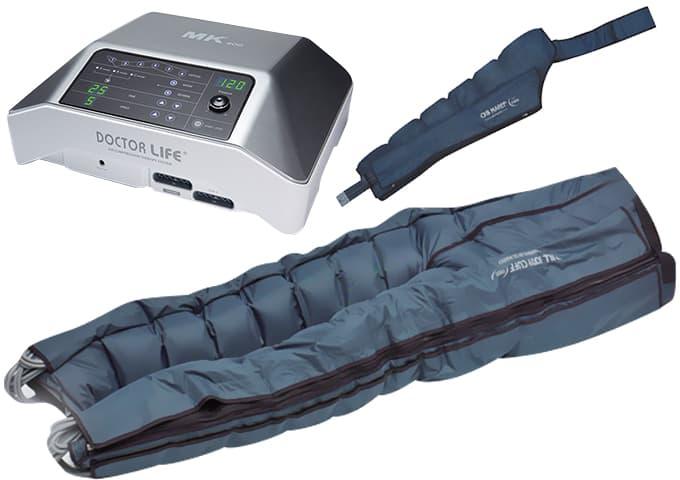 Аппарат для лимфодренажа MARK 400 + комбинезон + манжета на руку