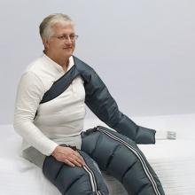 Аппарат для лимфодренажа MARK 400 + манжеты для ног + пояс для похудения + манжета на руку