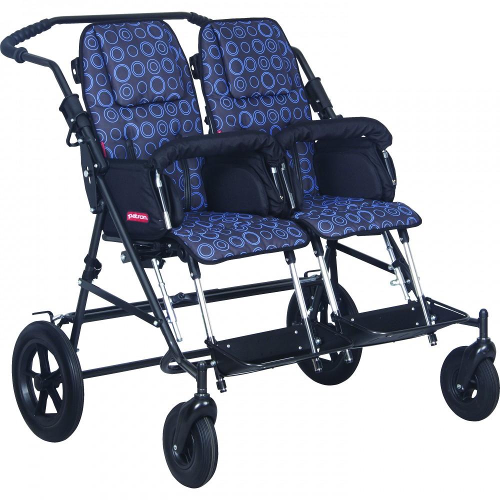 Инвалидная коляска для детей с ДЦП Patron Tom 4 X-country Classic Duo T4cwyp