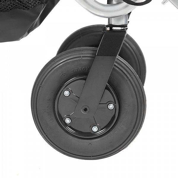 Переднее колесо с фиксатором